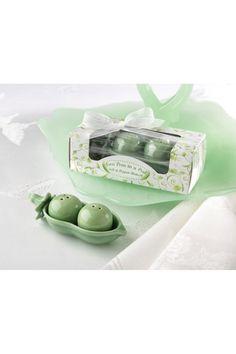 peas in a pod.  baby shower or gardener gift