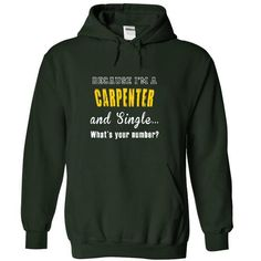 I AM A CARPENTER. WHAT IS YOUR NUMBER? - #tshirt diy #pullover hoodie. TRY => https://www.sunfrog.com/Jobs/I-AM-A-CARPENTER-WHAT-IS-YOUR-NUMBER-4811-Forest-3853387-Hoodie.html?68278