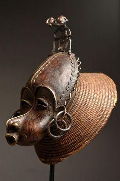 tikar, cimier, mask, artenegro, cameroon, african art, tribal