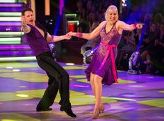 Jennifer Gibney and Tristan MacManus on Strictly Come Dancing 2014: Week One, Show Two