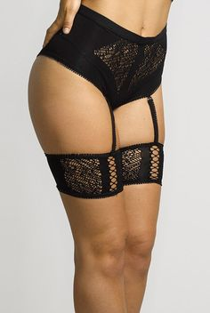 b2af804ccf0 Erica M. Lucy Garter Thong  Sexy garter panty comfortably cinches you in  all the right places. The waistband amplifies your hour glass figure while  the ...