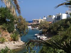 Sissi Harbour, Crete. Can't wait to go here in September!