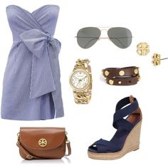 Outfit for my mom by southern-prep, via Polyvore