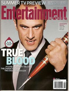 Entertainment Weekly, Christopher Meloni, True Blood, #4 of 11, June 2012 ~NEW