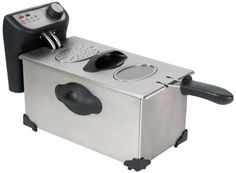 CHARD DF3E Stainless Steel Deep Fryer with Power and Ready Lights 30Liter -- Want to know more, click on the image.