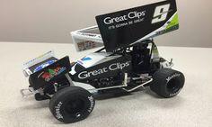 2015 Daryn Pittman #9 Great Clips Sprint Car 1/18 Racing Baby, Sprint Car Racing, Dirt Track Racing, Speedway Racing, Cool Electronics, Sexy Cars, Rc Cars, New Toys, Fast Cars