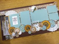 Best Online Source of Scrapbook Page Layouts Bo Bunny The Avenues - Detailed item view - Scrapbook Super Station -- Boutique