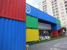 2012 DNC Google Container by Boxman Studios, via Flickr