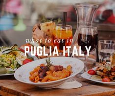 Living in Italy, we sampled all the best foods from Puglia Italy. Here is your guide on how to eat and where to find the best foods all over Puglia, enjoy! #livinginitaly #LivinginItaly