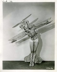Great 1920s era costume!/ Modern day slutty plane costume :)
