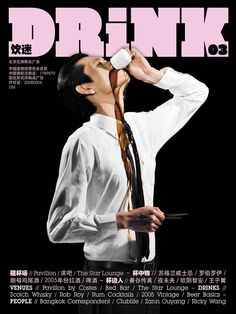Cover shoot Drink Magazine 03