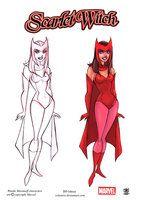 Wanda maxinoff   Scarlet Witch by celaoxxx