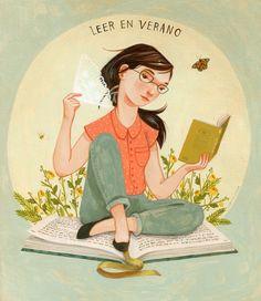 Leer en verano. Rebecca Green.