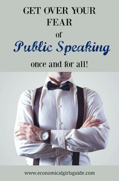 Get over your fear of public speaking! Tips and tricks for perfect presentations! | Economical Girl's Guide