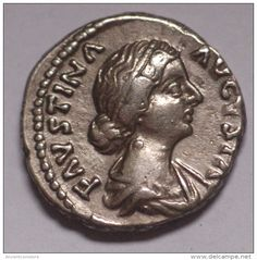 FAUSTINA II (Augusta, 147-176). Denarius. Rome.