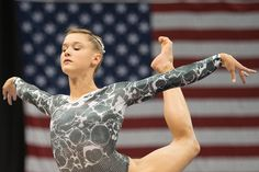 Madison Desch- 2014 P&G Championships  Printed Leotard