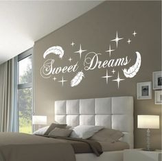 deko-shop-24.de-Wandtattoo-Sweet Dreams Federn