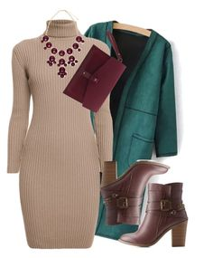 """""""#officewear"""" by noelleandrews ❤ liked on Polyvore featuring Rumour London, Olive Cooper, Charlotte Russe, women's clothing, women, female, woman, misses and juniors"""