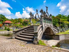 Tirta Gangga Water Palace, Bali puzzle in Bridges jigsaw puzzles on TheJigsawPuzzles.com. Play full screen, enjoy Puzzle of the Day and thousands more.