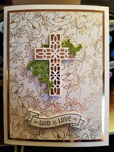 Communion, Confirmation Cards, Deco Foil, Hand Made Greeting Cards, Christian Cards, Easter Card, Get Well Cards, Pretty Cards, Sympathy Cards