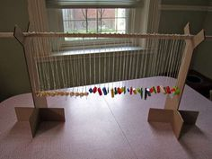 great idea for a craft show necklace stand!  by jessyratfink on instructables.