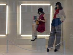 Vitrines Chanel - Londres, mars 2014