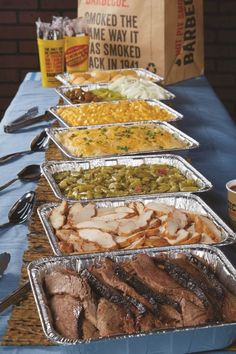 Food Ideas for A Wedding Buffet . Best Of Food Ideas for A Wedding Buffet . Dickey S Lipsmacking Bbq Catering Shoppersch Bbq Party, Snacks Für Party, Wedding Reception Food, Wedding Catering, Wedding Ideas, Wedding Buffet Food, Trendy Wedding, Cheap Wedding Food, Wedding Buffets