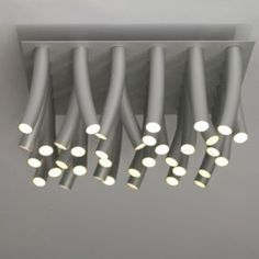 Modern Aluminum LED Ceiling Lamp