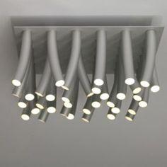Modern Aluminum LED Ceiling Lamp