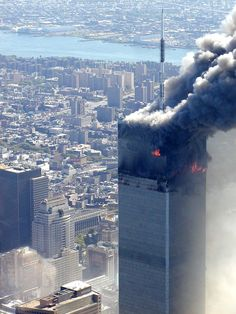 September 11, 2001: North Tower, World Trade Center (Copyright All rights reserved by Metabunk)