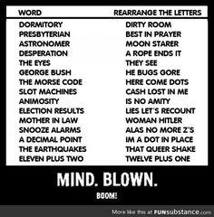 Letter rearrangement