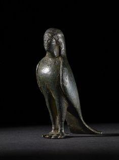 Bronze figure of a Siren 460-450 BC Classical Greek (Source: The British Museum)