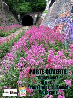 Porte ouverte sur la Petite Ceinture ferroviaire dans le cadre du Mois de l'Économie Sociale et Solidaire http://www.pariscotejardin.fr/2015/11/porte-ouverte-sur-la-petite-ceinture-ferroviaire-dans-le-cadre-du-mois-de-l-economie-sociale-et-solidaire/