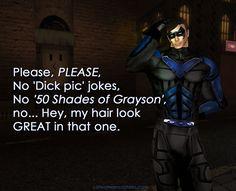 Batman Humor, Catwoman, Hair Looks, Looks Great, Jokes, Fictional Characters, Husky Jokes, Hairdos, Memes