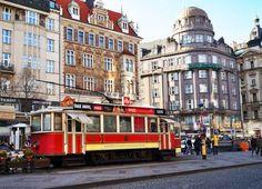 Prague café-tram (494 pieces)