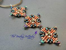 Aztec Sun Pendant & Earrings Tutorial - Pattern for Twin or Duo