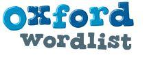 Oxford Wordlist - sight words - Australian resource - free download