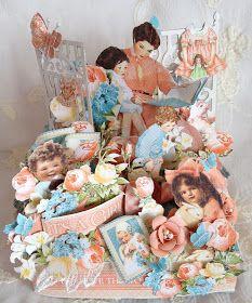 annes papercreations: Graphic 45 Precious Memories Photo box photo album