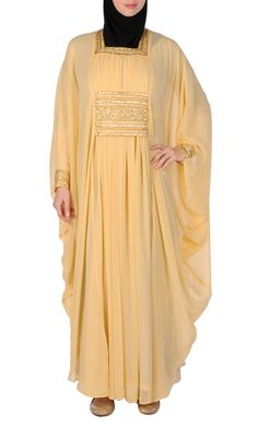 Beautiful Beaded Evening Kaftan Gown
