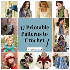 We can't think of a better way to start the new year than with a brand new collection of printable crochet patterns from your favorite yarn companies. Below, you'll find an incredible selection of free crochet patterns from companies such as Bernat,