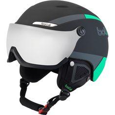 Bolle B-Yond Visier Bernstein Blau Ski / Snowboardhelm M Schwarz Snowboarding, Skiing, Ski Helmets, Bicycle Helmet, Guns, Black, Baseball, Fit, Green