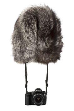 Fancy Fur Camera Holders : BryanBoy for Adrienne Landau