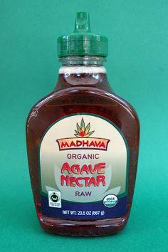 Madhava Organic Raw Agave Nectar.