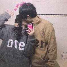Pin by тιffαиу ™ on ♡ l o v e in 2019 ulzzang couple, ulzzan Ulzzang Couple, Ulzzang Boy, Cute Couples Goals, Couple Goals, Cute Korean, Korean Girl, Korean Couple, Photo Couple, Couple Aesthetic