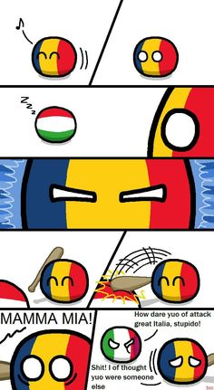 Romania and Hungary issues Funny Pictures With Captions, Best Funny Pictures, Funny Images, Bad Memes, Stupid Funny Memes, Funny Stuff, Hetalia, History Jokes, Funny Comic Strips