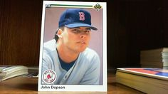 UPPER DECK 1990 JOHN DOPSON CARD#671  BOSTON RED SOX.