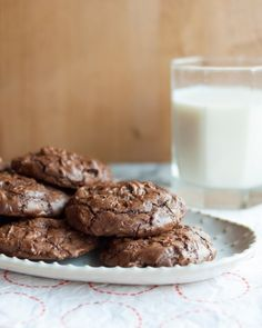 Recipe: Chocolate Truffle Cookies with Cherries & Walnuts — Recipes from The Kitchn