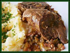 Slovak Recipes, Pot Roast, Stew, Meat, Ethnic Recipes, Kitchen, Food, Drink, Carne Asada