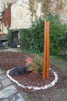 Isleta de piedras y bambú II - Segovia  www.begovega.com