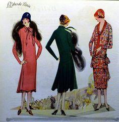 — kittyinva:   Kittyinva: 1925 fashion page...